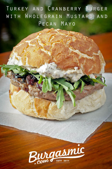 Turkey Cranberry Burger